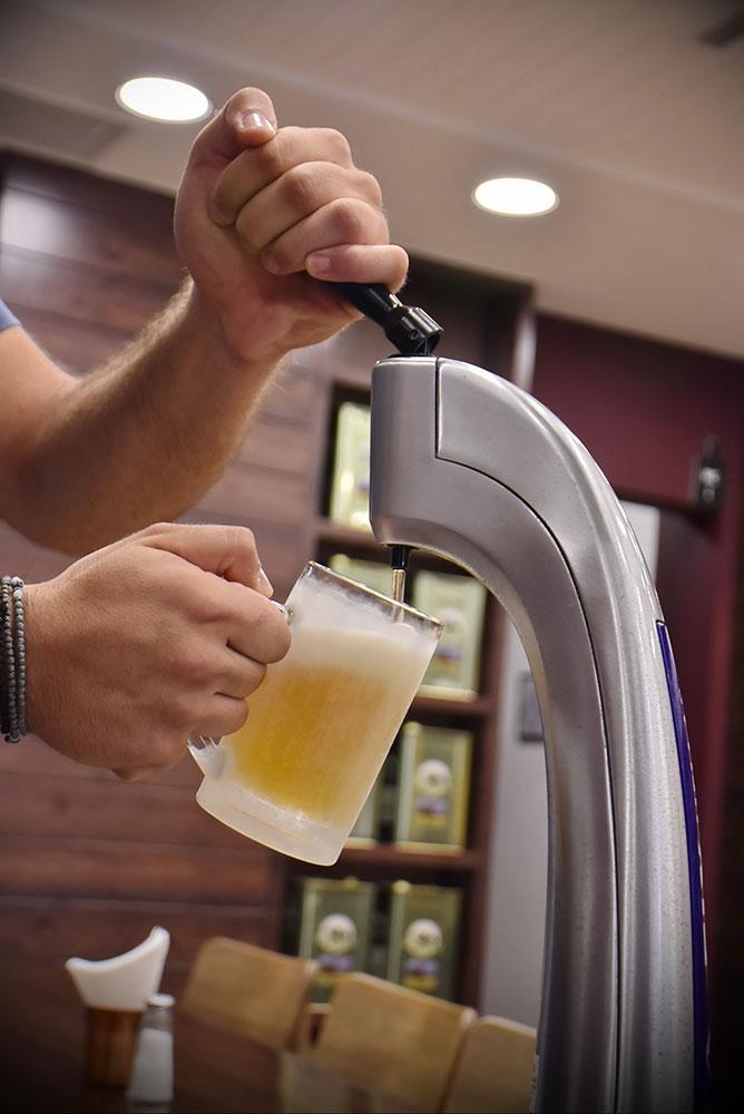 beer oregano grill gazi