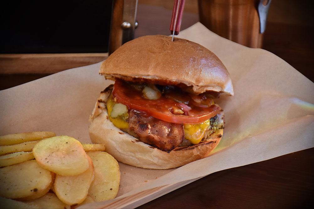 burger oregano grill gazi
